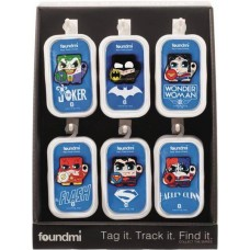 DC COMICS FOUNDMI BLUETOOTH TRACKER 18PC DISPLAY (Net)