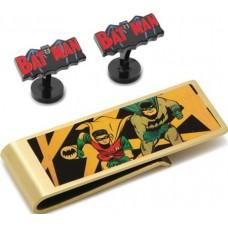 DC COMICS BATMAN 66 CUFFLINK & MONEY CLIP GIFT SET
