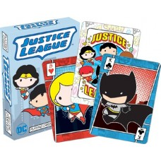 JUSTICE LEAGUE CHIBI PLAYING CARDS