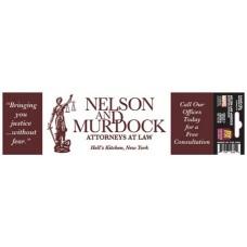 MARVEL HEROES NELSON & MURDOCK PX BUMPER STICKER