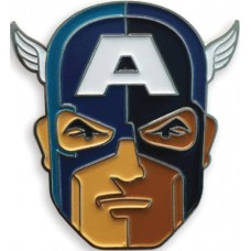 MONDO X MARVEL COMICS CAPTAIN AMERICA ENAMEL PIN