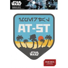 STAR WARS AT-AT ON SCARIF BADGE WINDOW DECAL