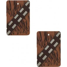SW CHEWBACCA 2PK VANILLA AIR FRESHENER 24PC BAG (Net)