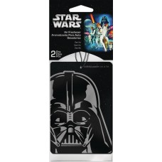 SW DARTH VADER 2PK VANILLA AIR FRESHENER 24PC BAG (Net)
