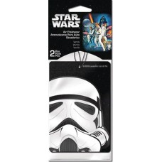 SW STORMTROOPER 2PK VANILLA AIR FRESHENER 24PC BAG (Net)