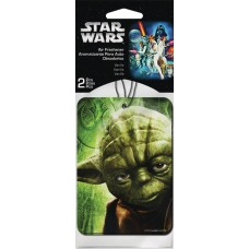 SW YODA 2PK VANILLA AIR FRESHENER 24PC BAG (Net)