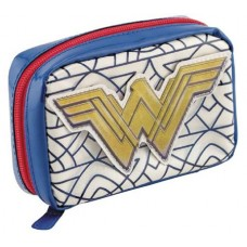 DC WONDER WOMAN ART DECO COSMETIC CASE