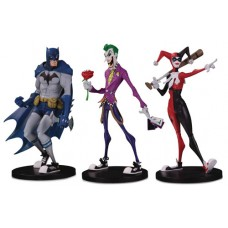 DC ARTISTS ARTIST ALLEY BATMAN JOKER HARLEY NOOLIGAN VINYL FIG BUNDLE