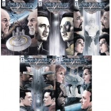STAR TREK TNG THROUGH THE MIRROR #1 - #5 CVR A BUNDLE SET