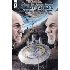 STAR TREK TNG THROUGH THE MIRROR #1 CVR A WOODWARD
