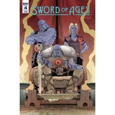 SWORD OF AGES #4 CVR A RODRIGUEZ