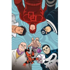 YOU ARE DEADPOOL #4 (OF 5) ESPIN RPG VARIANT