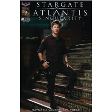 STARGATE ATLANTIS SINGULARITY #3 PREMIUM FLASHBACK PHOTO LTD