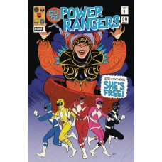 GO GO POWER RANGERS #9 SUBSCRIPTION MOK VARIANT SG