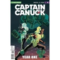 CAPTAIN CANUCK YEAR ONE #4 VIRGIN ART