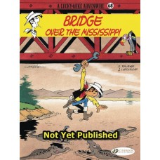 LUCKY LUKE TP VOL 68 OVER  THE MISSISSIPPI