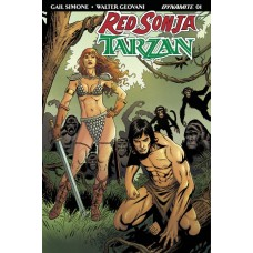RED SONJA TARZAN #1 CVR D GEOVANI