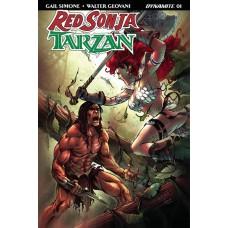 RED SONJA TARZAN #1 CVR E SUBSCRIPTION DAVILA