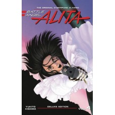 BATTLE ANGEL ALITA DELUXE ED VOL 04