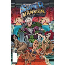 SUPERMANSION #2 (OF 4) CVR A LEON