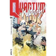 QUANTUM & WOODY (2017) #6 CVR A OLIVETTI