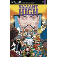 VALIANT HIGH #1 (OF 4) CVR A LAFUENTE