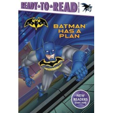 BATMAN HAS A PLAN READ TO READ HC