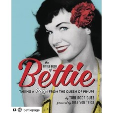 LITTLE BOOK OF BETTIE TAKING PAGE FROM QUEEN OF PINUPS