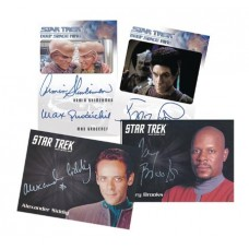 ST DEEP SPACE NINE HEROES AND VILLAINS T/C BOX