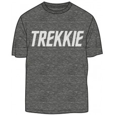 STAR TREK TREKKIE PX CHARCOAL BLACK T/S SM