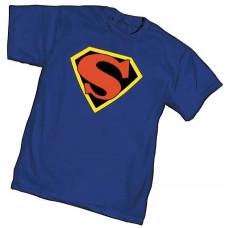 CLASSIC SUPERMAN SYMBOL T/S MED