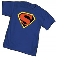 CLASSIC SUPERMAN SYMBOL I T/S XL