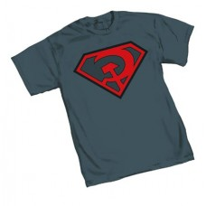 SUPERMAN RED SON SYMBOL T/S LG