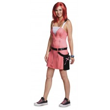 KINGDOM HEARTS KAIRI DLX COSTUME ADULT SM (4-6)