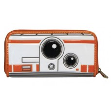 LOUNGEFLY STAR WARS BB8 EMBOSSED WALLET