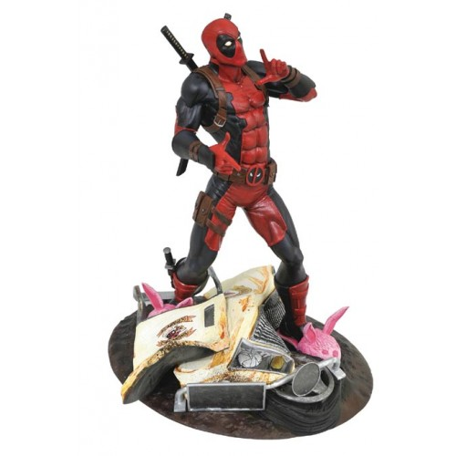 Картинки по запросу Marvel PVC Gallery Statues - Taco Truck Deadpool