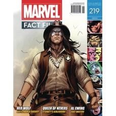MARVEL FACT FILES #219