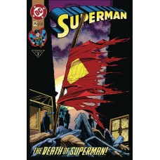 DC COMICS TIN COVER COLLECTION #2 SUPERMAN V2 #75