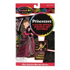 MELISSA & DOUG COLOR REVEAL PICTURES PRINCESS