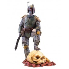 SW COLLECTORS GALLERY BOBA FETT 9IN STATUE