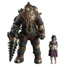 BIOSHOCK SUBJECT DELTA & LITTLE SISTER 1/6 SCALE FIG