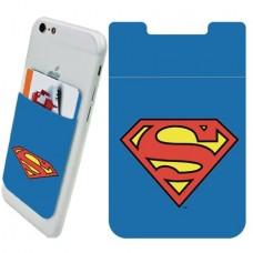 DC SUPERMAN LOGO PHONE CARD HOLDER