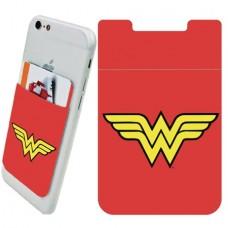 DC WONDER WOMAN LOGO PHONE CARD HOLDER