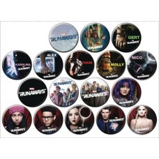 MARVEL RUNAWAYS 144 PIECE BUTTON ASST
