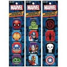 MARVEL COMICS 12 PIECE MAGNET BOOKMARK ASST