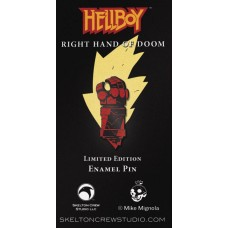 HELLBOY RIGHT HAND OF DOOM ENAMEL PIN