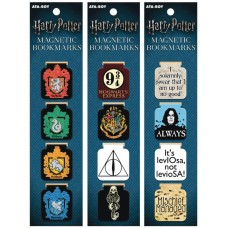 HARRY POTTER 12 PIECE MAGNET BOOKMARK ASST