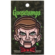 GOOSEBUMPS SLAPPY DUMMY ENAMEL PIN