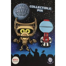 MST3K CUTE TOM AND CROW LAPEL PIN SET