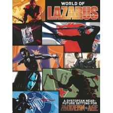 WORLD OF LAZARUS MODERN AGE RPG CAMPAIGN SETTING HC